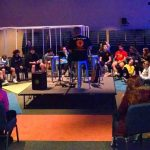 Students in 5th grade through high school meet at The Village Christian Church in MInooka, Illinois on Sunday nights, 6:00-7:30 pm