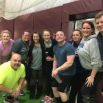 Lifegroups are all about hanging out with friends and having fun! This group plays volleyball together!