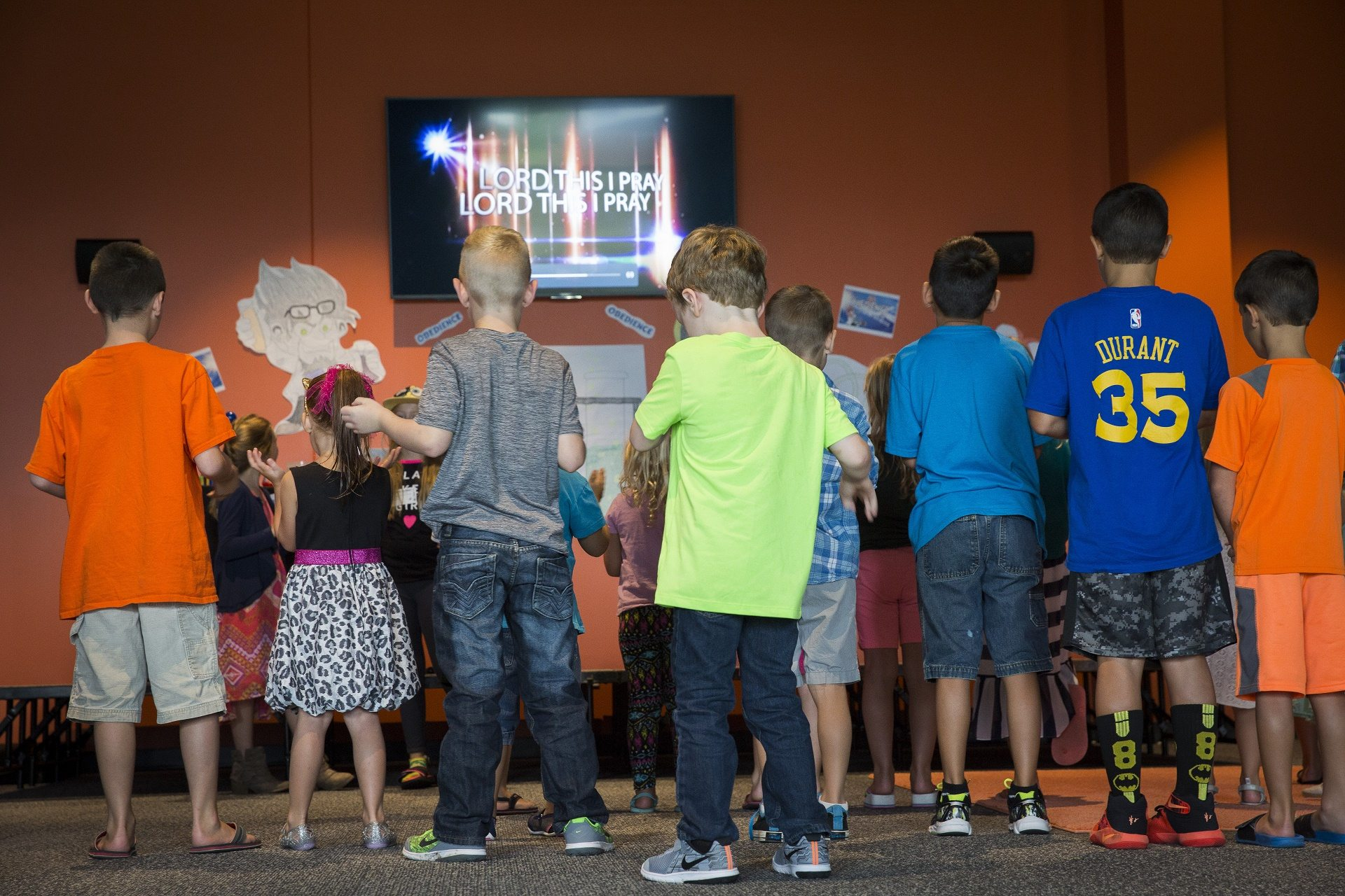 Kid Village at The Village Christian Church in Minooka, IL is for infants-4th graders.