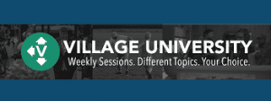 What's Happening_Village University is happening this week at The Village Christian Church in MInooka, IL