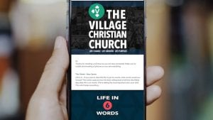 Text LIFECHANGE to 22828 to sign up for the Enews newsletter and get the latest news.