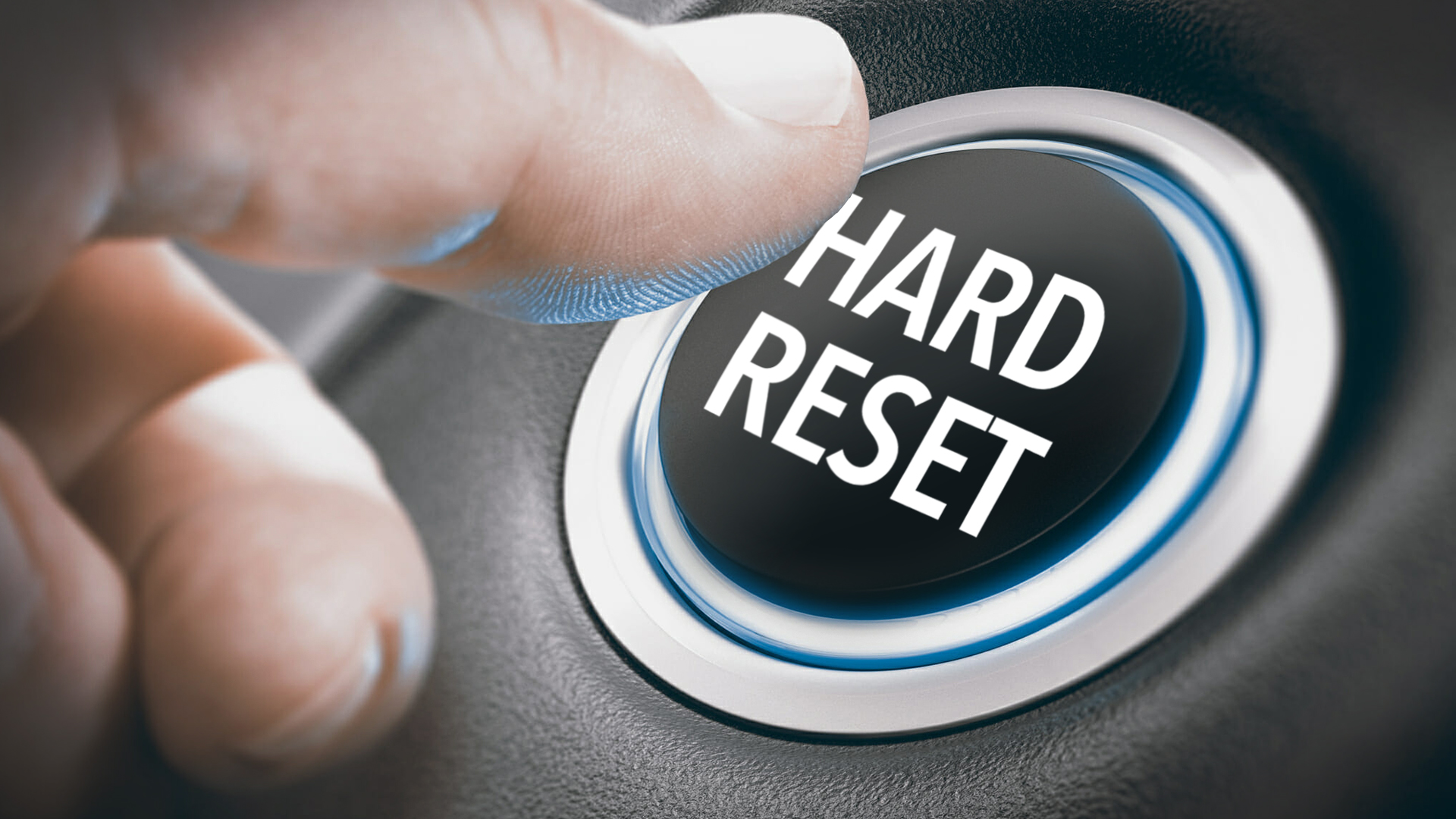 Hard Reset, a series about what the church of today should look like