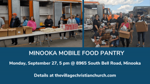 Mobile Food Pantry September 27 at The Village Minooka Campus