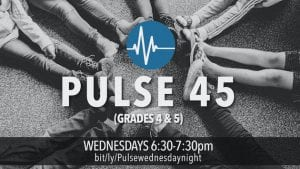 Pulse 45 is the youth group for 4th and 5th graders at The Village Christian Church in MInooka, IL