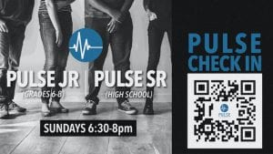 Pulse students is the youth group for grade 6 through high school at The Village Christian Church in MInooka