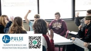 Pulse students in grades 5-8 meet Sunday mornings at The Village Christian Church in MInooka. Registration required.