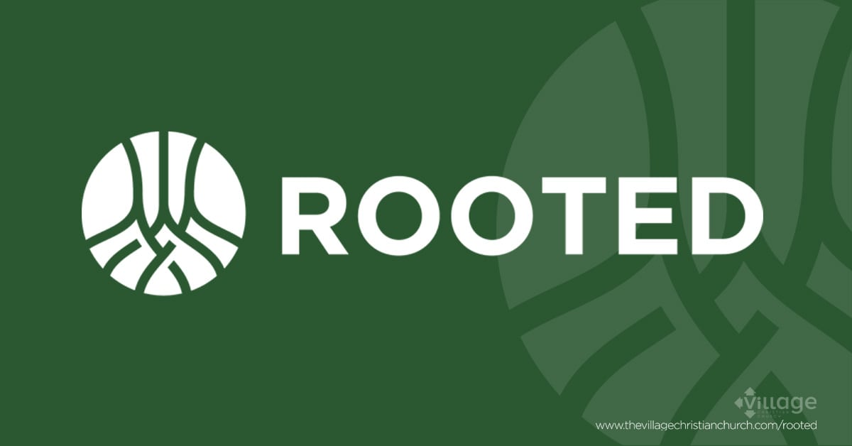 Rooted will run September 10, 2018 through November 16, 2018 at The Village Christian Church in Minooka, IL