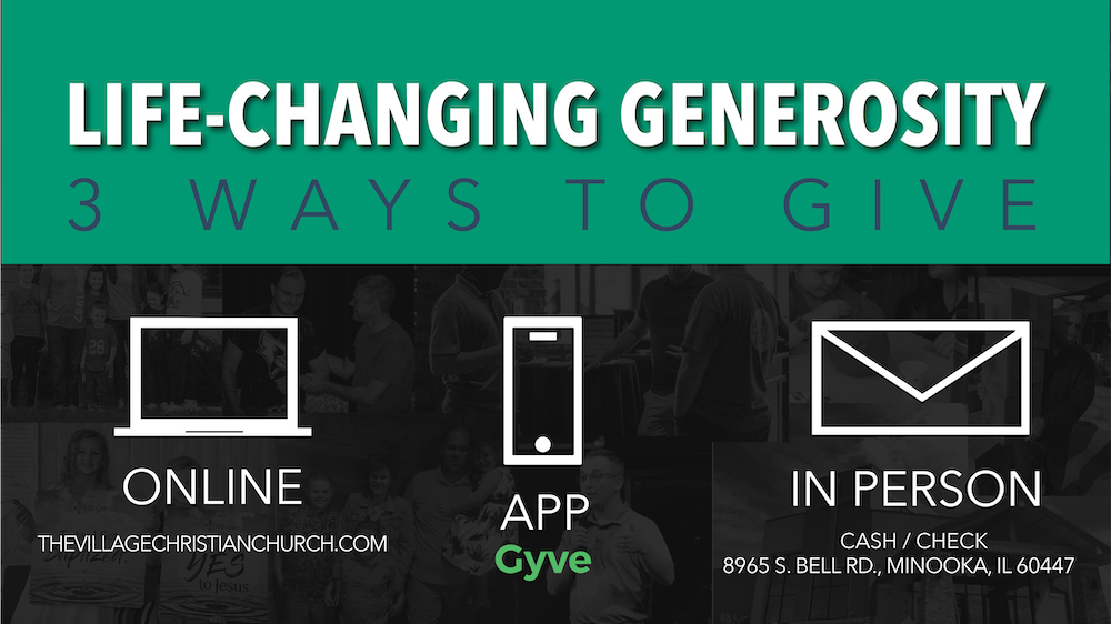 Life Changing Generosity Ways To Give