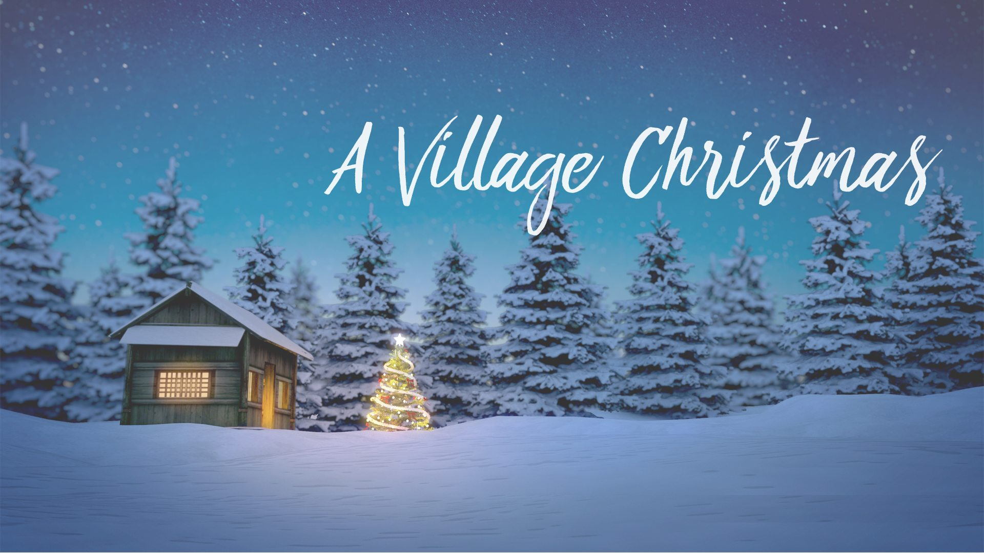 Celebrate a Village Christmas at The Village Christian church in MInooka / Channahon and find out why this time of year is so exciting!