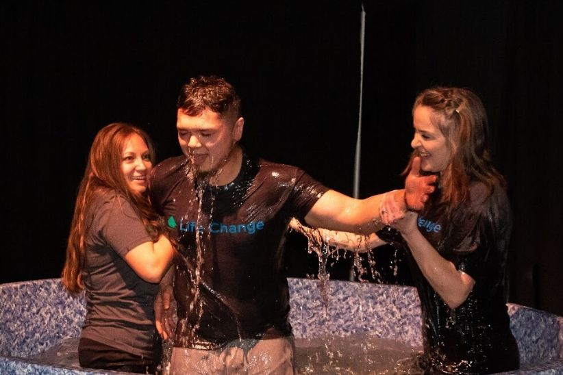 Saying yes to Jesus and getting baptized