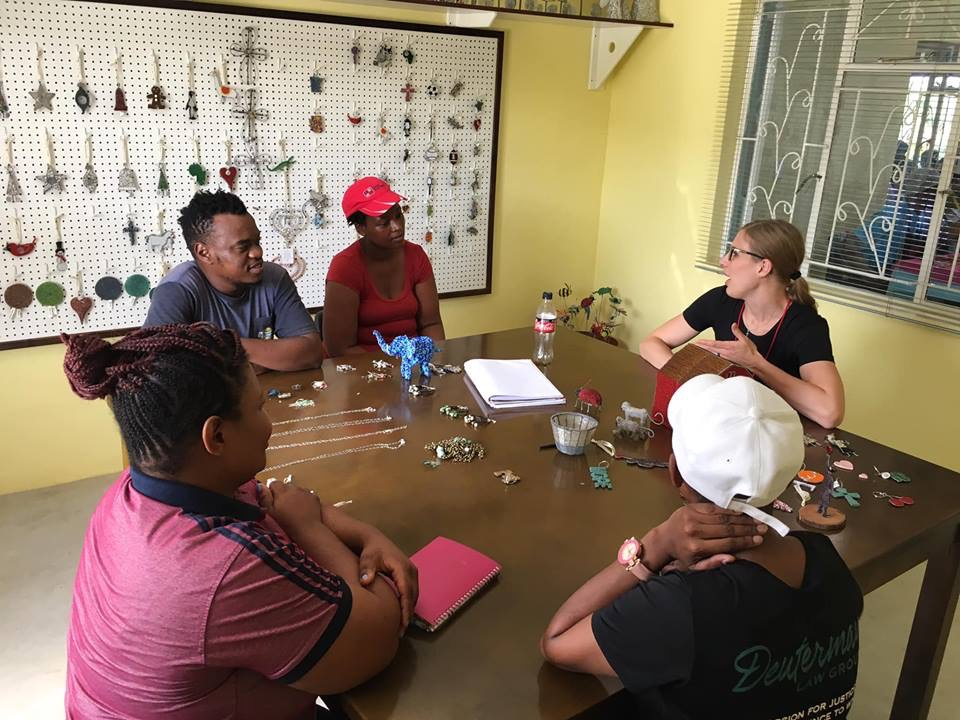A mission team travelled to eswatini, Africa in the Spring of 2019 to serve at Heart for Africa.