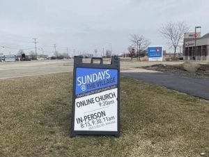 Community signs can be seen in the Minooka and Chanahon Illinois communities