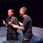 Celebrating the decision to be baptized and commitment to accept and follow Jesus Christ.