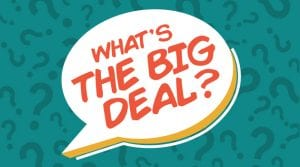 What's the Big Deal is the series this week at The Village Christian Church in Minooka, IL